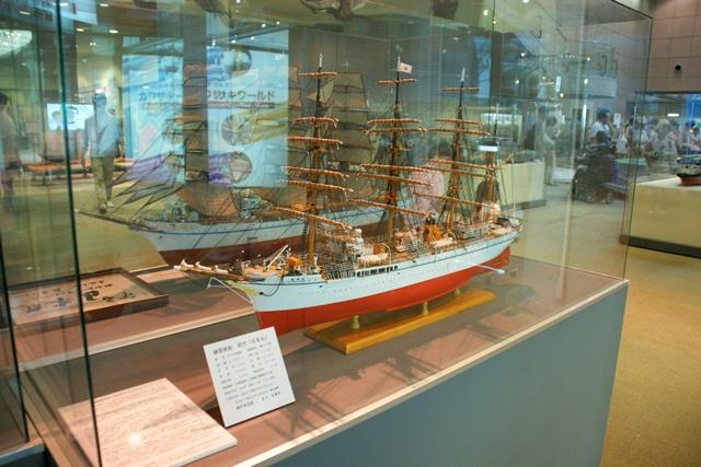 カワサキワールドには模型帆船がいっぱい(4/9)_d0181492_6173588.jpg
