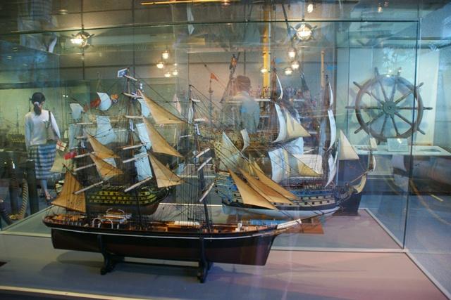 カワサキワールドには模型帆船がいっぱい(4/9)_d0181492_619102.jpg