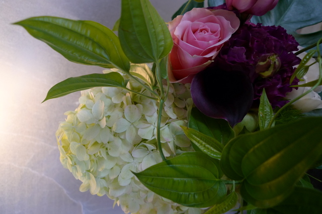 美容師さんへの誕生日花束_b0171193_19344371.jpg