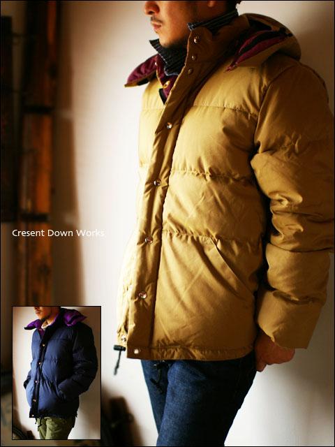 Crescent Down Works [クレセントダウンワークス] 60/40 ダウンジャケット MEN\'S_f0051306_2025577.jpg