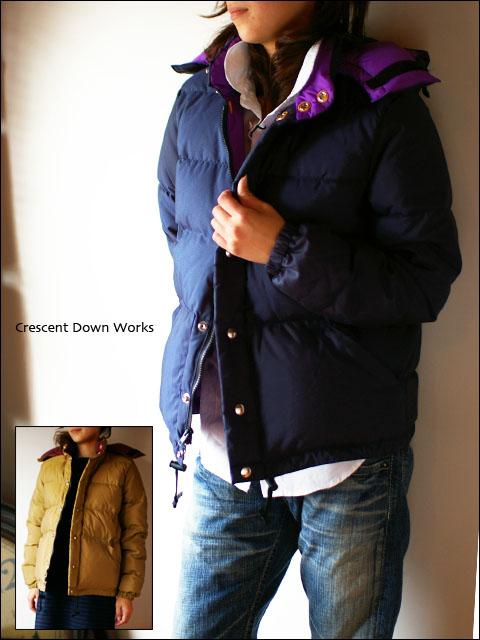 Crescent Down Works [クレセントダウンワークス] 60/40 ダウンジャケット LADY\'S _f0051306_2041798.jpg