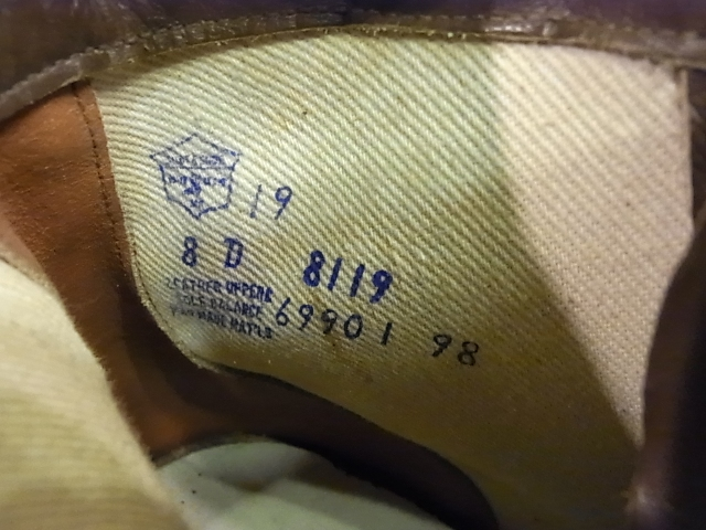 40-50'S WORK BOOTS LEATHER SOLE!_c0144020_16111360.jpg