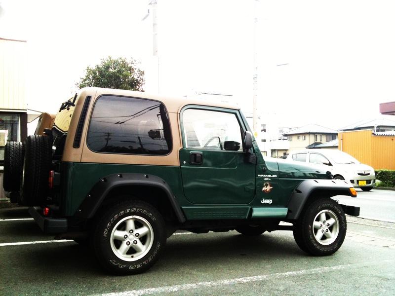グリーンのサハラ 外装メンテナンス_f0105425_17471265.jpg