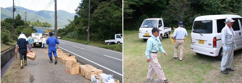 職員米作りの会。迎えた収穫の秋_f0016038_7341749.jpg