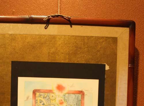 『水上祐子小作品展』のポスターとアリスのウサギ③と新潟漆器・竹塗り_d0178448_9172358.jpg