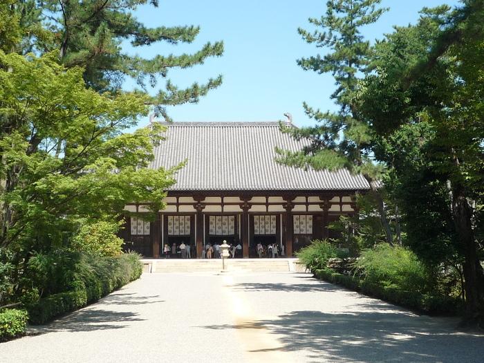 Photo-sketch of Nara: 唐招提寺/Toshodaiji _e0140365_2239785.jpg