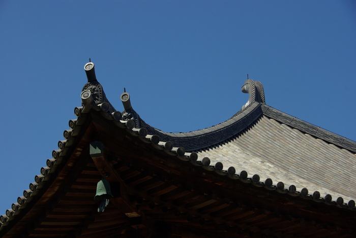 Photo-sketch of Nara: 唐招提寺/Toshodaiji _e0140365_22475417.jpg