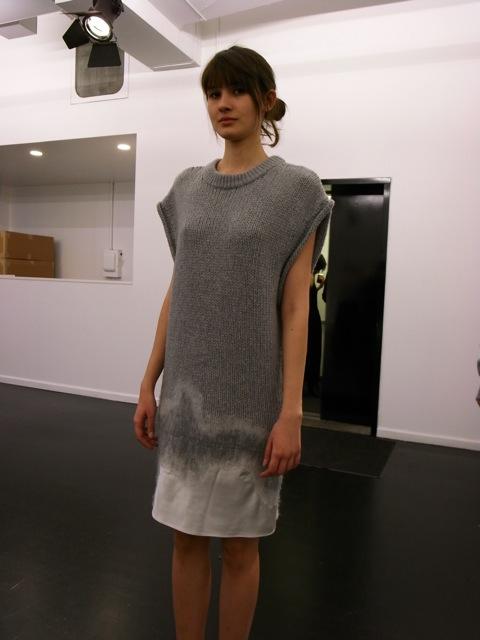 Alexander Wang Extended Schoulder Satin Needle Punch Dress_f0111683_148263.jpg