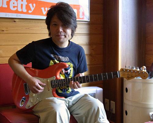 1961年生まれの「佐橋佳幸さん」と「Fender Strat」。_e0053731_15431452.jpg
