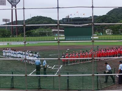 日本女子ソフトボールリーグ 1日目 9/30_e0175443_21444990.jpg