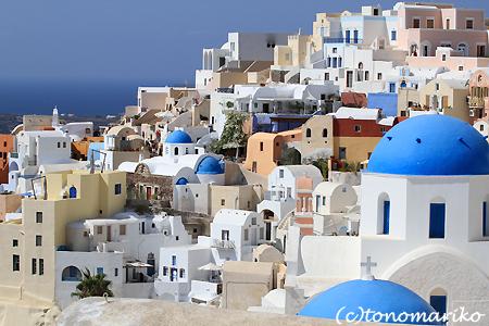 青と白の町「イア」 サントリーニ島_c0024345_4533862.jpg