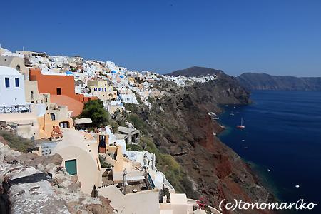 青と白の町「イア」 サントリーニ島_c0024345_454145.jpg
