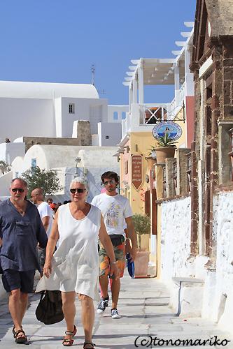 青と白の町「イア」 サントリーニ島_c0024345_4541911.jpg