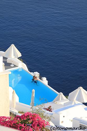 青と白の町「イア」 サントリーニ島_c0024345_455293.jpg