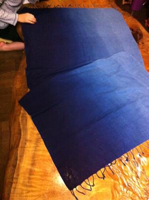 藍染めのクロマーと「日々」の撮影 @葉山_e0142868_15125022.jpg