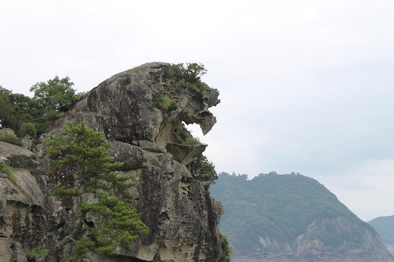 獅子岩から花乃窟神社へ(2011.8.24)_c0173978_1152598.jpg