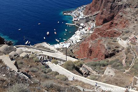 サントリーニ島のロバタクシー_c0024345_144864.jpg