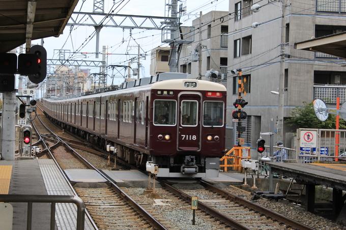 阪急7018F 神戸線_d0202264_19572565.jpg