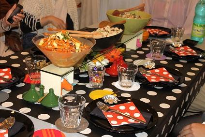 テーブルコーディネートとイタリア料理_a0154793_14372468.jpg