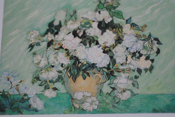 ワシントン ナショナルギャラリー展  ゴッホ 「 薔薇 」_c0195496_2103053.jpg