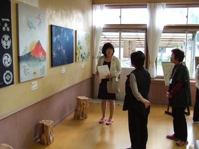 10月3日 向道中芸術村アート祭_c0104626_17494399.jpg
