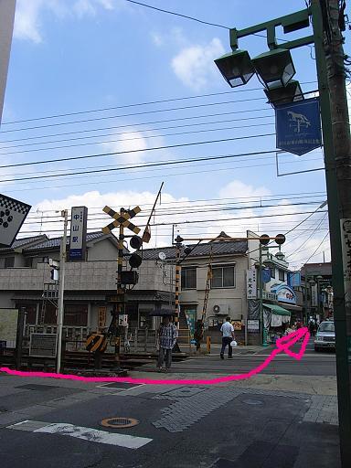 中山法華経寺までの道順です_e0239948_11205999.jpg