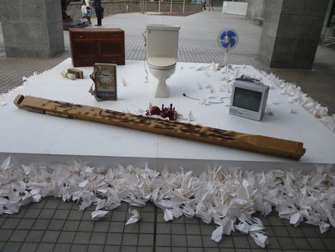 広島市現代美術館特別展 第8回ヒロシマ賞受賞記念 オノ・ヨーコ展 希望の路 YOKO ONO 2011♡*† *・。・。+_a0053662_0322194.jpg