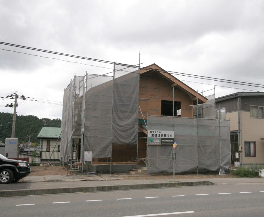 U様邸「清澄町の家」 施工中です。_f0150893_17255697.jpg