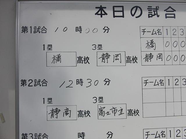 秋季高校野球県大会 富士市立高校 堂々の準優勝!_f0141310_7413992.jpg