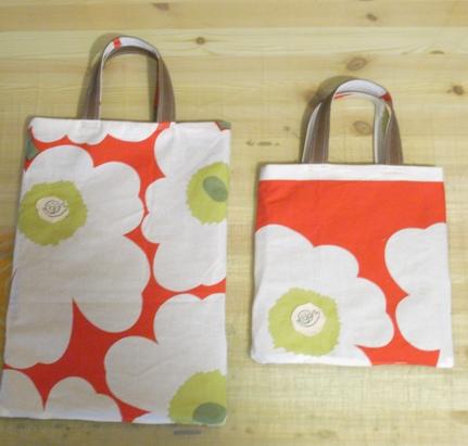 本日のバッグは、お花はん。_c0160822_17383473.jpg
