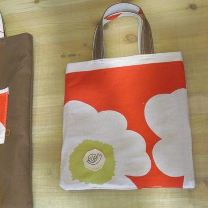 本日のバッグは、お花はん。_c0160822_1739286.jpg