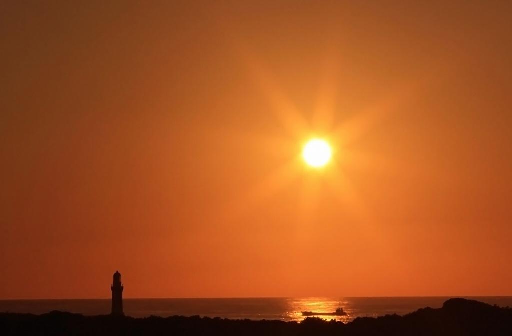 角島の夕陽_d0074828_22575747.jpg