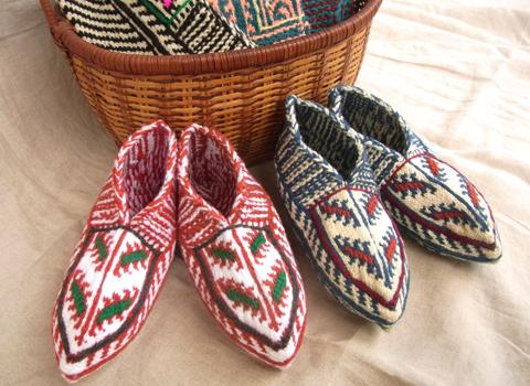 マースーレ村から足元ほっこり靴下届きました_d0156336_2372362.jpg