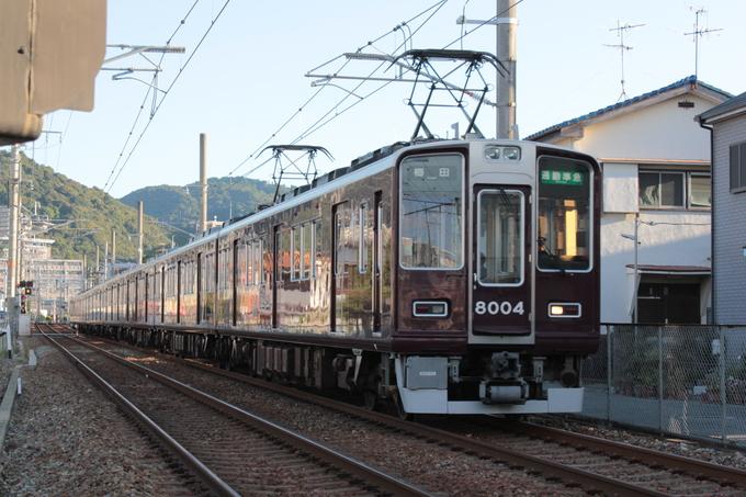 阪急8004F 通勤準急_d0202264_7123125.jpg