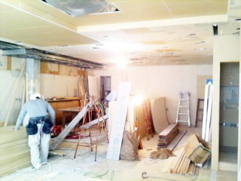 【奈良店】リニューアル改装中。工事の進行状況。_c0080367_1621780.jpg