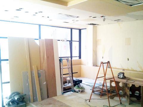 【奈良店】リニューアル改装中。工事の進行状況。_c0080367_1622096.jpg