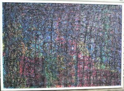 松阪市美術展覧会に利用者さんの作品が入選しました。_a0154110_1338051.jpg