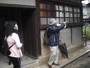人材育成研修2回目、地域学講座は、歩いて三津口めぐり_e0175370_21313134.jpg