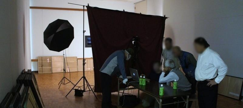 11年10月5日・茨城県芸術祭美術展覧会準備4日目展示作業_c0129671_17334312.jpg