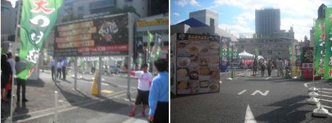 駐車場で大つけ麺博開催中_d0183174_19184227.jpg