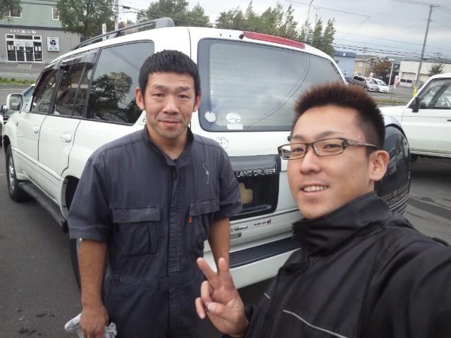 本日の掃除&納車準備!!_b0127002_20484490.jpg
