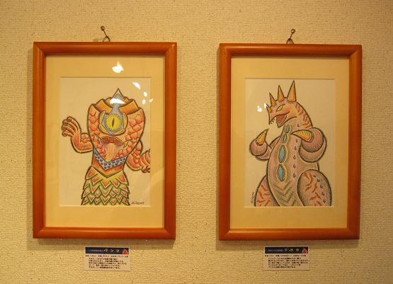 たまごの工房 第4回 怪獣図鑑展 その2_e0134502_16585197.jpg