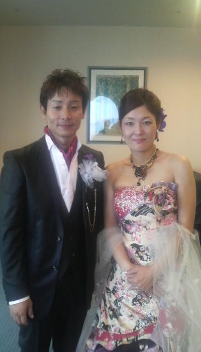 山口衛里さん』 Happy Wedding ♪...