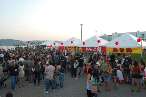 2011.10.1 FESTA DO JAPÃO Jardim Japonês - Belém - Lisboaライヴ _c0146817_1365187.jpg