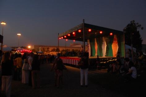 2011.10.1 FESTA DO JAPÃO Jardim Japonês - Belém - Lisboaライヴ _c0146817_1365852.jpg