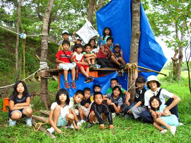 秘密基地キャンプ_f0121321_1065982.jpg