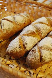 マクロビパン・コース:カレー風味野菜パン、かぼちゃマフィン_a0175348_72554.jpg