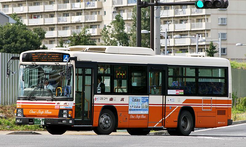 東武バスイースト 2813 : FB=Favorite Bus