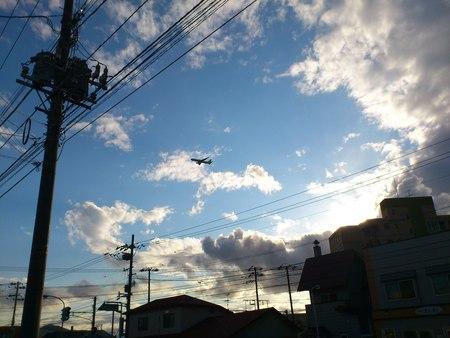 飛行機着陸_b0106766_21284616.jpg