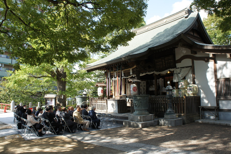 松戸神社 竣工奉祝祭  2011.9.29_e0223769_1831187.jpg